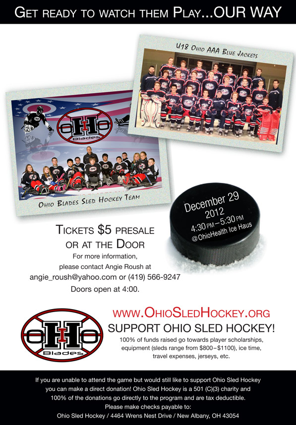Sled Hockey Fundraiser