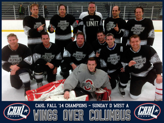 CAHL Sunday D West A Champs