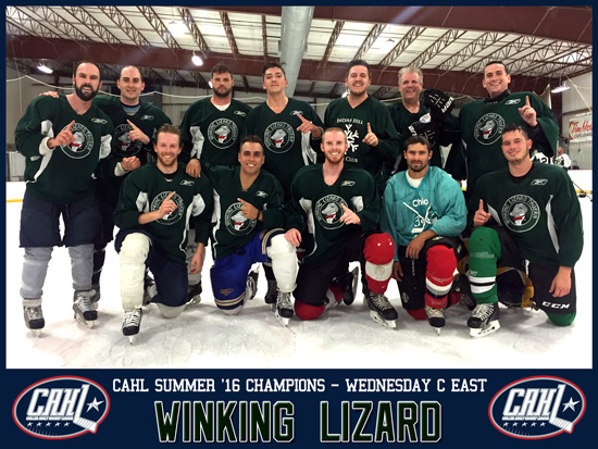 CAHL Wednesday C East Champs