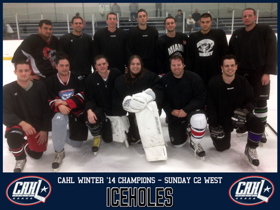 CAHL Sunday C2 West Champs