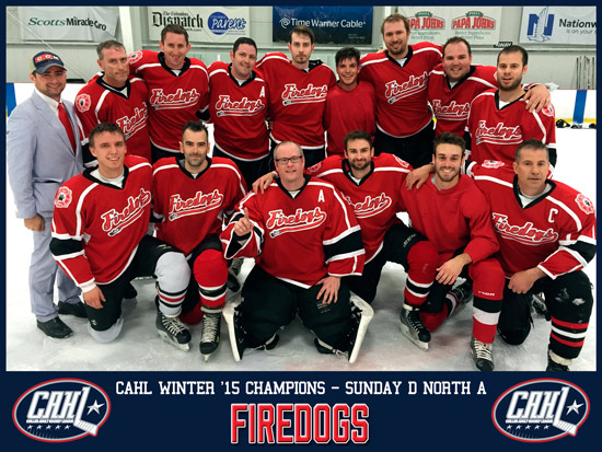 CAHL Sunday D North Champs