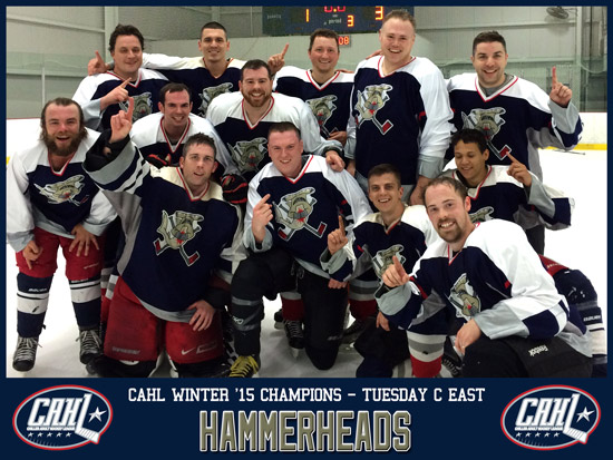 CAHL Tuesday C East Champs