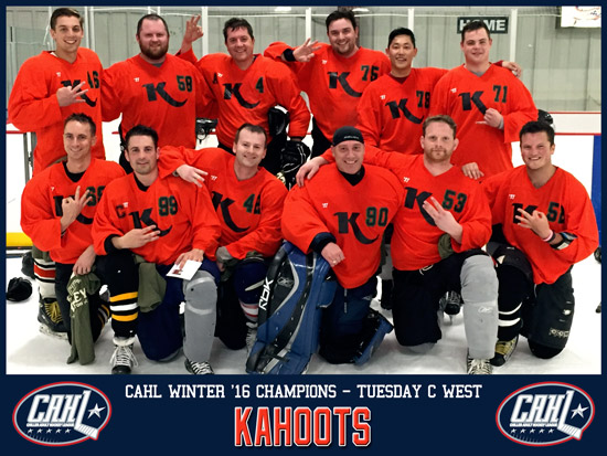 CAHL Tuesday C West Champs