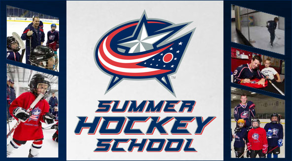 Register now for the 2013 Blue Jackets Hockey School!