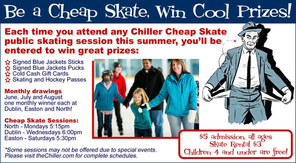 Be a Cheap Skate, win cool prizes!