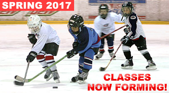Register for SPRING Junior Jackets hockey classes presented by Tim Hortons!