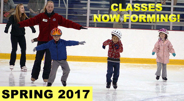 Register for SPRING skating classes! Session starts week of May 8.